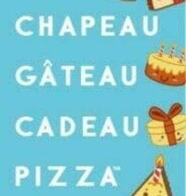 Blue Orange Games Taco, Chapeau, Gâteau, Cadeau, Pizza (FR)