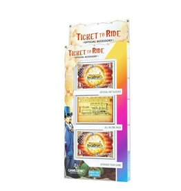 Gamegenic Précommande: TicketTo Ride: Art Sleeves