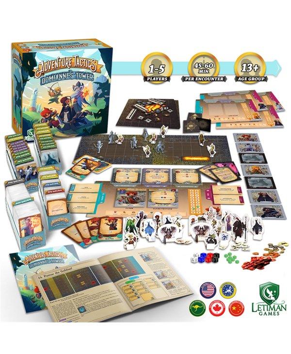 Adventure Tactics: Domianne's Tower (Base Game) (EN) (Kickstarter) Date d'arrivée Juin 2022