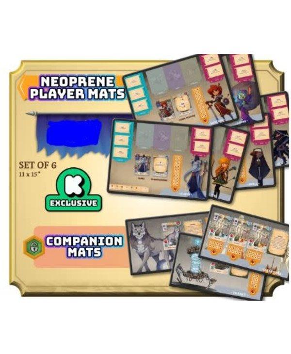 Adventure Tactics: Neoprene Player and Companion  Mat (EN) (Kickstarter) Date d'arrivée Juin 2022
