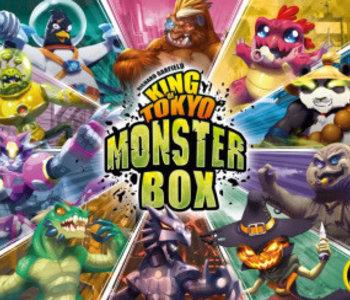 Précommande: King Of Tokyo Monster Box (EN)