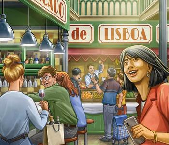 Mercado De Lisboa (EN)
