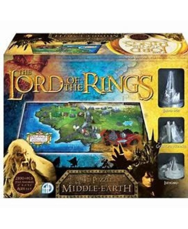 Casse-tête: 4D Puzzle: The Lord Of The Rings: Middle-Earth (2174 Pieces)
