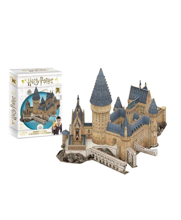 Casse-tête: 3D Puzzle: Harry Potter: Great Hall (187 Pieces)