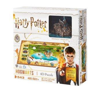 Casse-tête: 4D Puzzle: Harry Potter: Mini Hogwarts (543 Pieces)