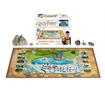 Casse-tête: 4D Puzzle: Harry Potter: Wizarding World (892 Pieces)