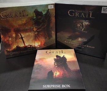 Tainted Grail+Stretch Goals+Suprise Box(EN)