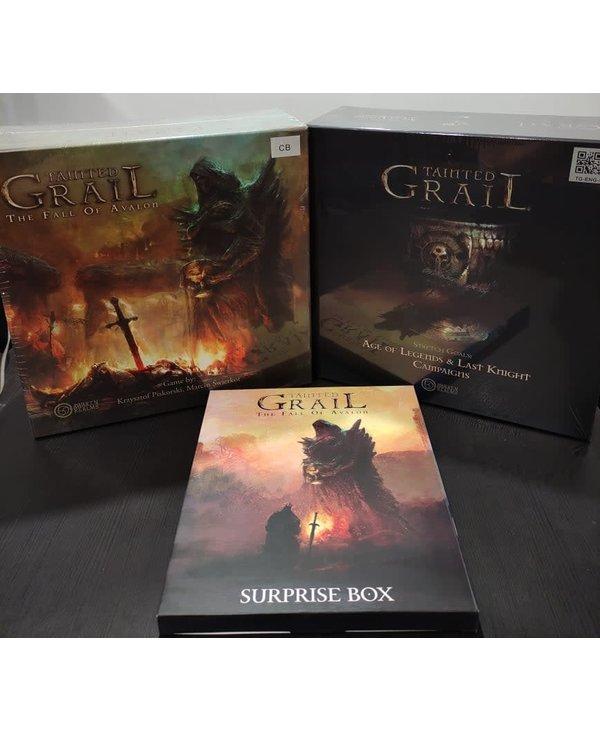 Tainted Grail+Stretch Goals Abimé+Suprise Box (EN)