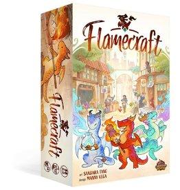 Lucky Duck Games Flamecraft: (Deluxe) (FR) (Kickstarter) Date d'arrivée Juillet 2022