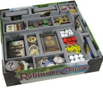 Folded Space:  Robinson Crusoe