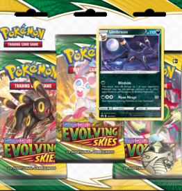 Pokemon Pokemon: Sword & Shield Evolving Skies 3 Pack Blister (EN)