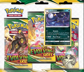 Pokemon: Sword & Shield Evolving Skies 3 Pack Blister (EN)