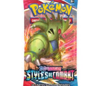 Pokemon: Épée et Bouclier Styles de Combat Booster Pack (FR)