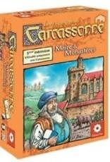 Z-Man Games, Inc. Carcassonne: Ext. Maire et Monastères (FR)