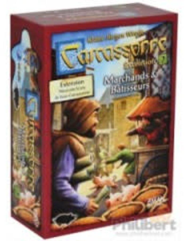 Z-Man Games, Inc. Carcassonne: Ext. Marchands et Bâtisseurs (FR)