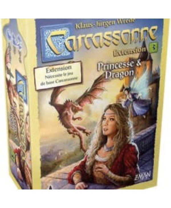 Carcassonne: Ext. Princesse et Dragon (FR)