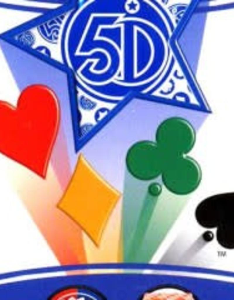 5ieme dimension International inc. Carte 5 Dimensions Version Bleu 80 cartes (FR)