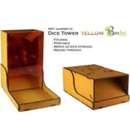 Bandua Wargames Dice Tower - yellow