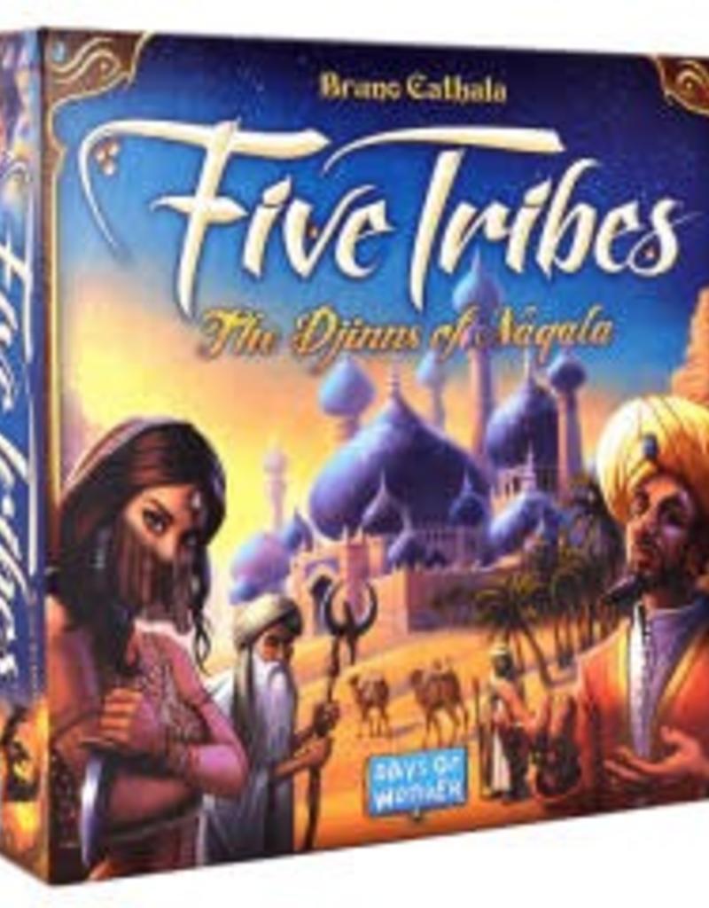 Days of Wonders Five Tribes - Les Djinns de Naqala (FR)
