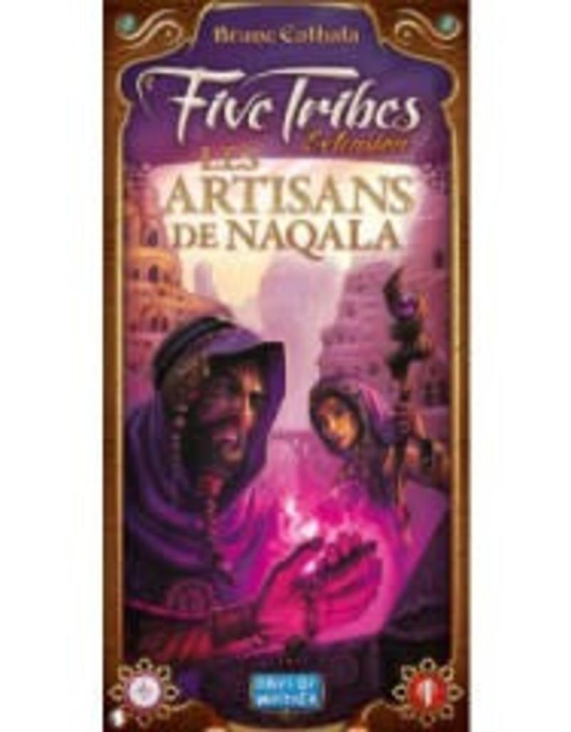 Days of Wonders Five tribes ext. Les artisans de Naqala(fr)