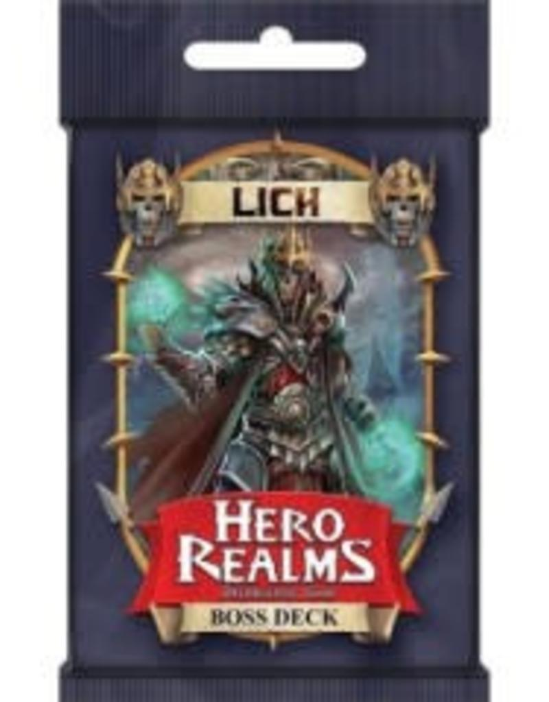 White Wizard Games Hero realms: Lich Boss Deck (EN)