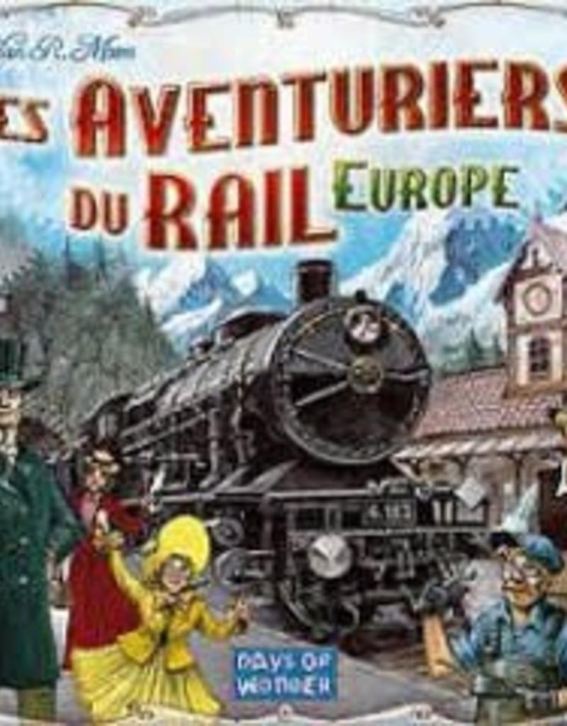 Days of Wonders Les Aventuriers du Rail Europe (FR)