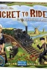 Days of Wonders Les Aventuriers du Rail: Ext. Nederland (ML)
