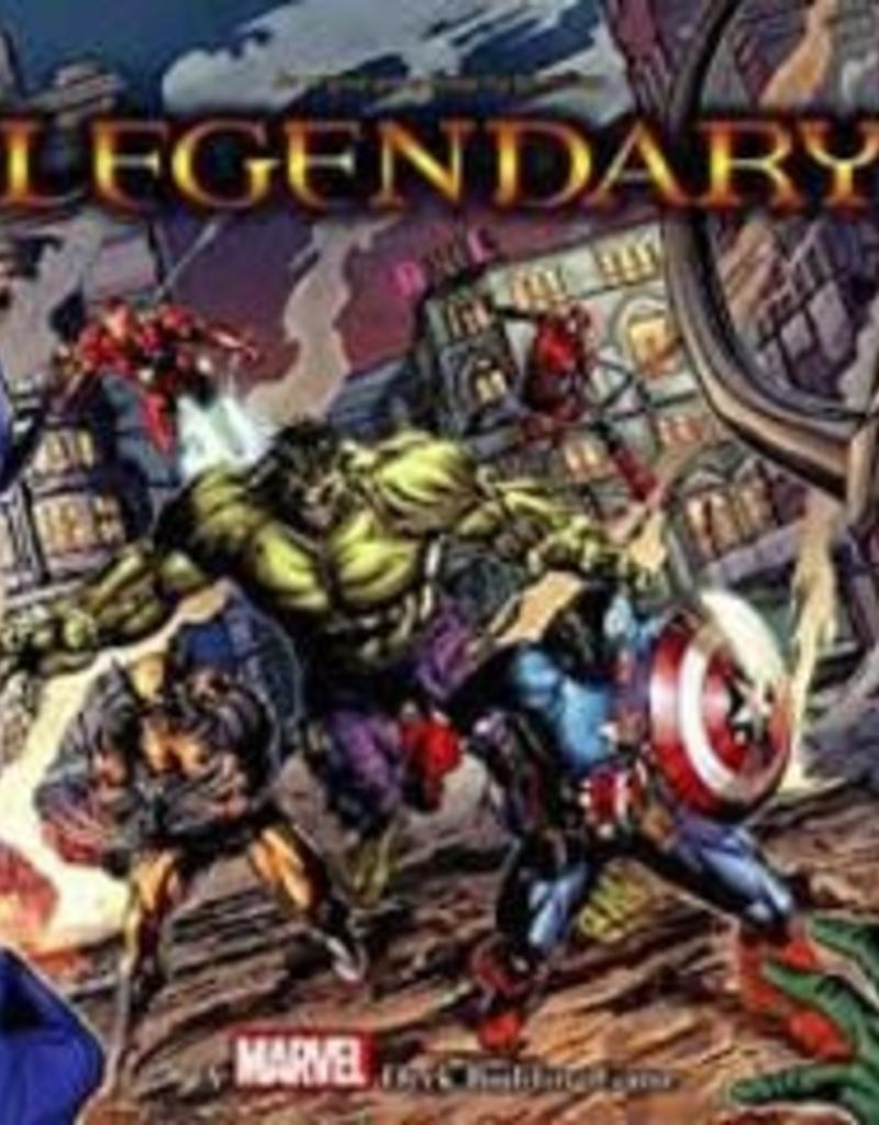 Upper Deck Marvel Legendary:  A Marvel Deck Building Game (EN)