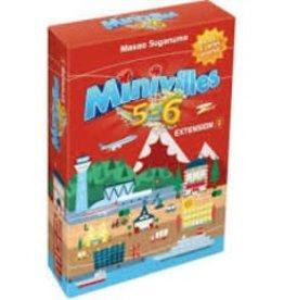Moonster Games Miniville: Ext. 5-6 joueurs (FR)