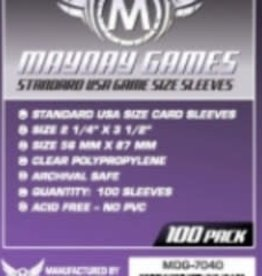 Mayday Games Sleeves - MDG-7040 «USA» 56mm X 87mm / 100