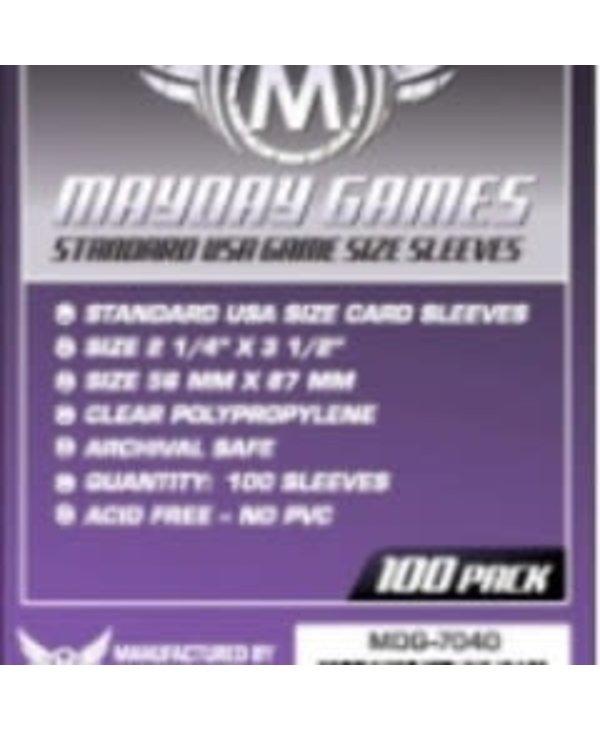Sleeves - MDG-7040 «USA» 56mm X 87mm / 100