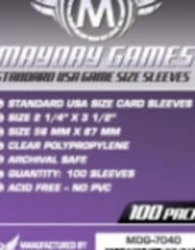 Mayday Games Sleeves - MDG-7040 «USA» 56mm X 87mm / 100