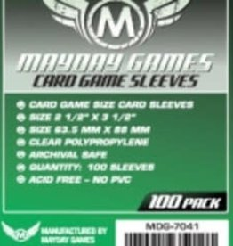 Mayday Games Sleeves - MDG-7041 «Standard» 63.5mm X 88mm / 100