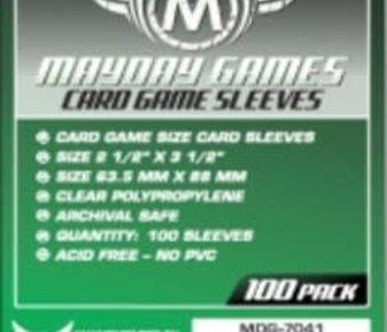 Sleeves - MDG-7041 «Standard» 63.5mm X 88mm / 100