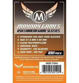 Mayday Games Sleeves - MDG-7044 «USA Chimera» 57.5mm X 89mm / 100