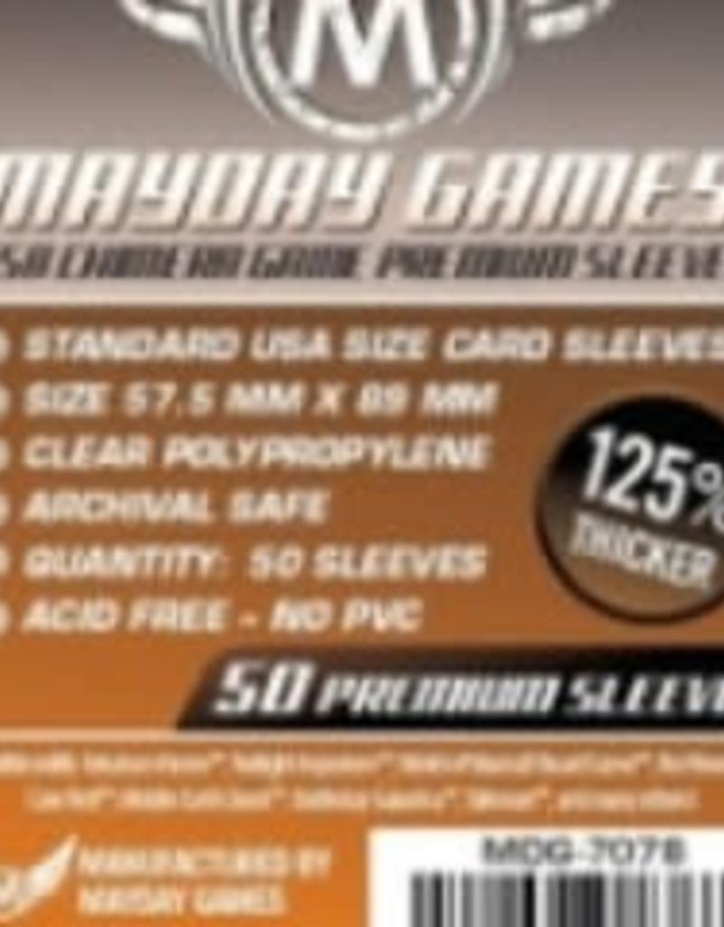 Mayday Games Sleeves - MDG-7078 «USA Chimera» 57.5mm X 89mm Deluxe / 50