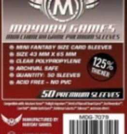 Mayday Games Sleeves - MDG-7079 «Mini-Chimera» 43mm X 65mm Deluxe / 50