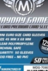 Mayday Games Sleeves - MDG-7080 «Mini-Euro» 45mm X 68mm Deluxe / 50
