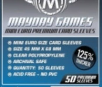 Sleeves - MDG-7080 «Mini-Euro» 45mm X 68mm Deluxe / 50