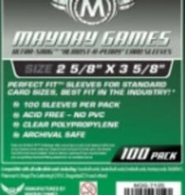 Mayday Games 7105 Sleeve «Presqu'une Cenne» 66.5mm X 92mm / 100