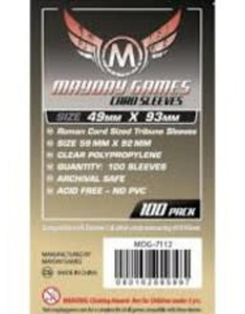 Mayday Games 7112 Sleeve «romains» 49mm X 93mm / 100 (commande spéciale)