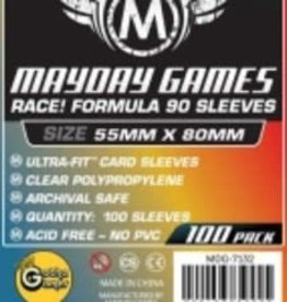 Mayday Games 7132 Sleeve «Race!» 55 mm X 80 mm / 100