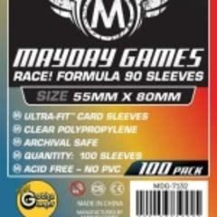7132 Sleeve «Race!» 55 mm X 80 mm / 100