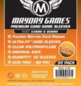 Mayday Games 7136 Sleeve «Yucatan» 54mm X 80mm / 50