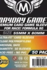 Mayday Games 7137 Sleeve «Race! Formula 90» 55mm X 80mm / 50