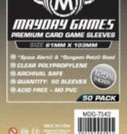 Mayday Games 7142 Sleeve «Space Alert» & «Dungeon Petz» 61mm X 103mm / 50