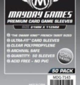 Mayday Games 7143 Sleeve «magnum platinum» 61mm X 112mm / 50