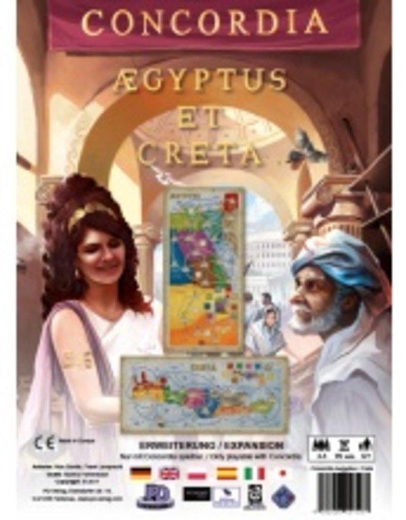 Rio Grande Games Concordia Ext: Aegyptus / Creta (EN)