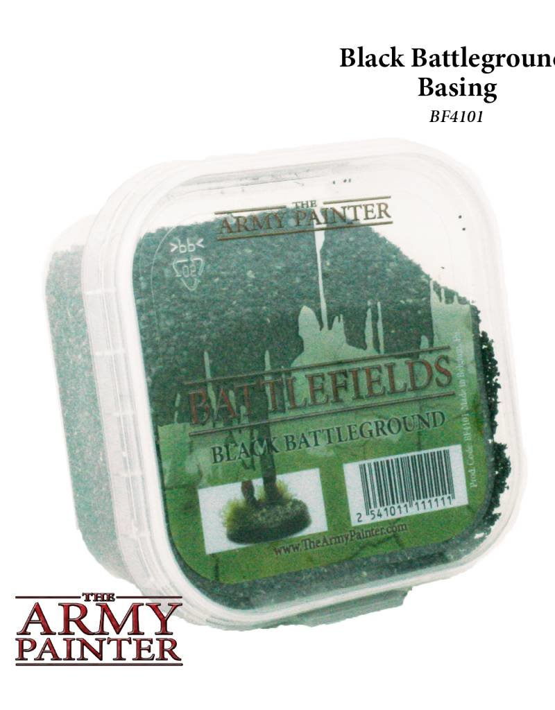 The Army Painter Battlefields: Black Battleground - Basing