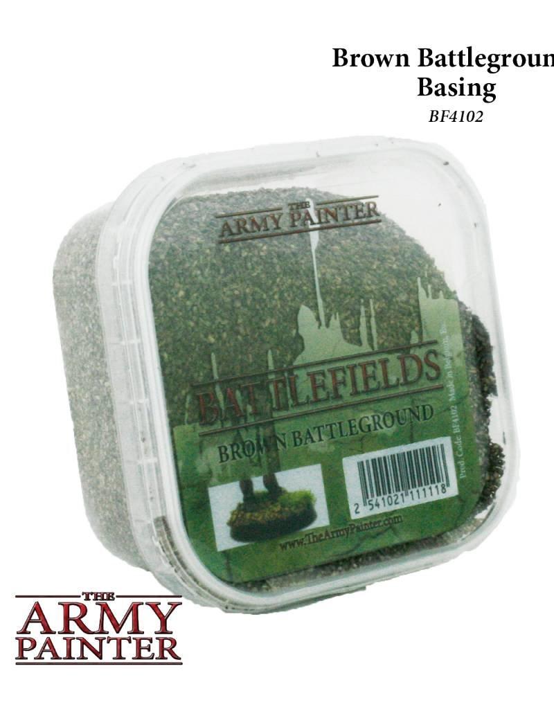 The Army Painter Battelfields: Brown Battleground - Basing